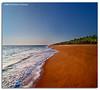 Infinity (DanielKHC) Tags: digital blending danielkhc explore frontpage india kerala trivandrum thiruvananthapuram kaniyapuram beach sea sand palms infinity nikon d300 tokina1116mmf28 danielcheong perspective seascape shoreline 39 fp interestingness hdr high dynamic range