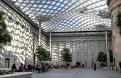 Kogod Courtyard Fused Exposures (Mr. T in DC) Tags: washingtondc smithsonian dc downtown chinatown galleryplace museums npg courtyards downtowndc pennquarter artmuseums saam portraitgallery photomatix atriums smithsonianamericanartmuseum reynoldscenter kogodcourtyard nationalportraitgalley fusedexposures