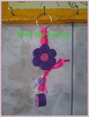 Chaveiro Duas cores (Flor de Juana) Tags: chaveiro enfeite lembrancinha portachave