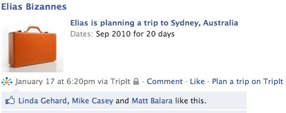 Australia trip like