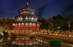 The Temple of Heavan (Jeff_B.) Tags: china epcot florida chinese disney disneyworld epcotcenter magickingdom waltdisney worldshowcase chinapavilion templeofheavan disneyphotography disneyphotograph