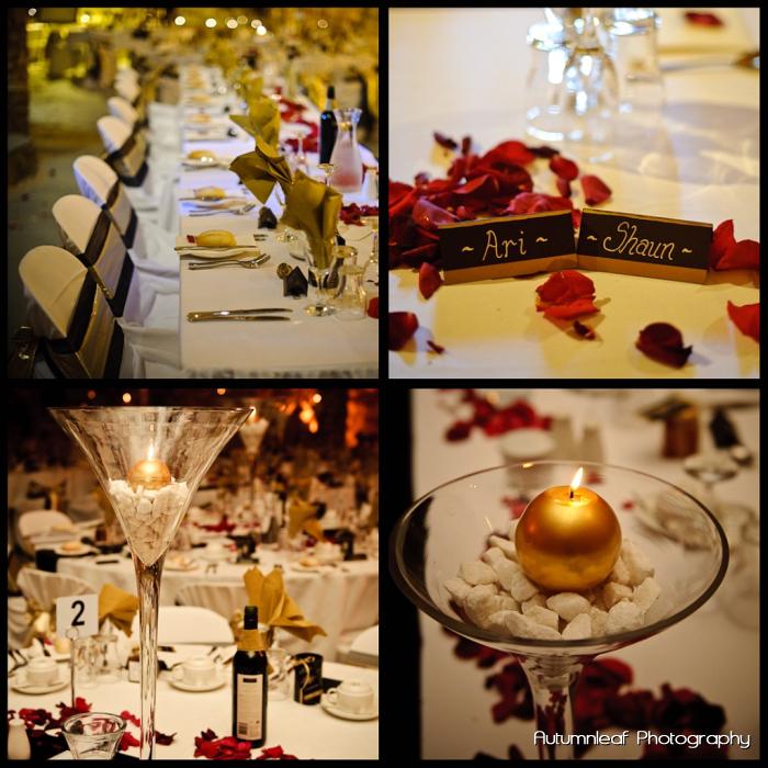 Ari & Shaun's Wedding - Reception Details