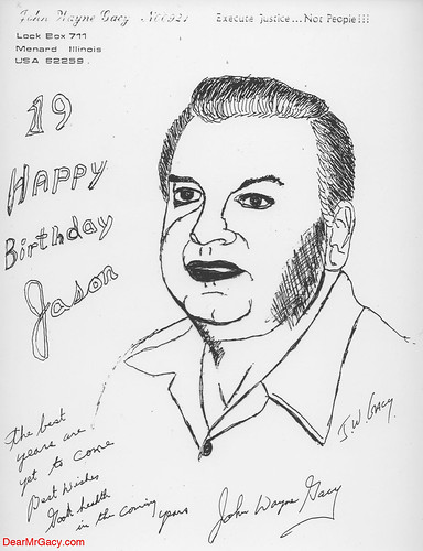 pictures of john wayne gacy victims. John Wayne Gacy Self Portrait