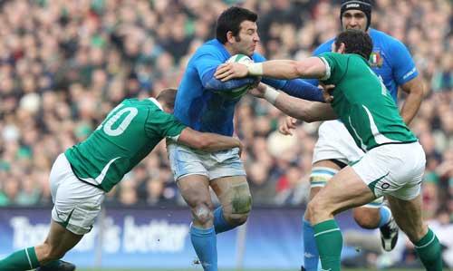 Gower contro l'Irlanda