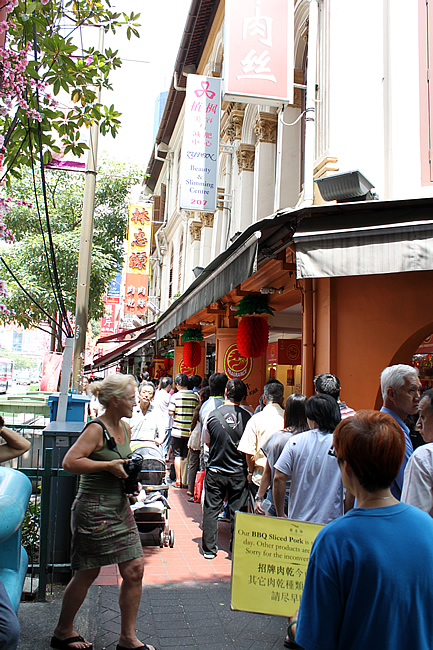 The famous LCG Bak Kwa queue