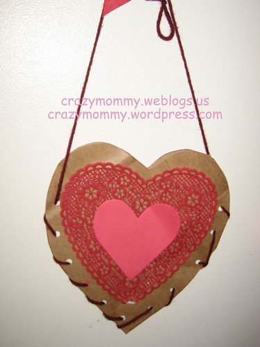 Brown Bag Valentine Carrier