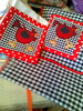 Pano Avulso (Dipano Ateliê) Tags: de galinha pano patchwork prato cozinha jogos tecido aplicação apliqué dipano