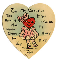 1907 valentine_tatteredandlost (T and L basement) Tags: valentine ephemera valentinesday vintagepostcards vintagevalentines vintagegreetingcards antiquecards