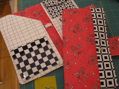 two passport wallets for my Quilt Diva friends