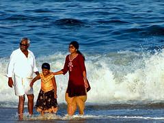 Family Funday (Shekhar D) Tags: beach marinabeach chennai southindia