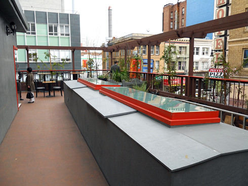 Passion Cafe Rooftop Garden Overlooking Sixth Street