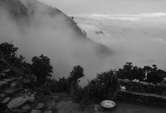 Junto al camino del Helambu en Chipling (Cyberian8) Tags: nepal blackandwhite bw blancoynegro trekking trek blackwhite asia noiretblanc bn himalaya senderismo himalayas senderisme   helambu crnobijeli  siyahvebeyaz svartochvitt  hitamdanputih schwarzundweis swartenwit  helambutrek  trekkingdelhelambu