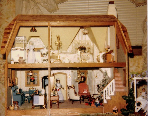 Interior and Arbor of My Parents' Dollhouse