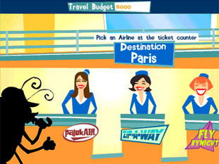 free Travel Bug slot bonus game