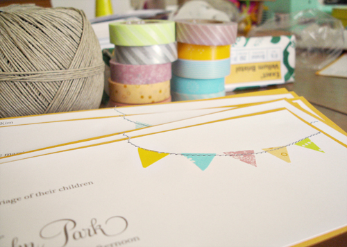 invitation making party!