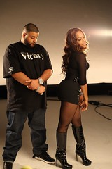 my chick bad video shoot