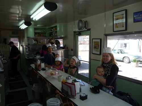 breakfast at dot's diner, the shady dell.
