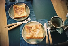 (risaikeda) Tags: life film coffee breakfast room lomolca frenchtoast