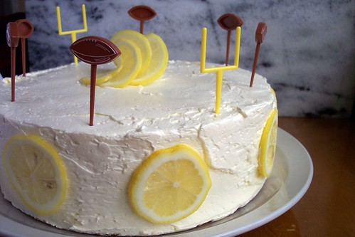Lemon Layer Cake...