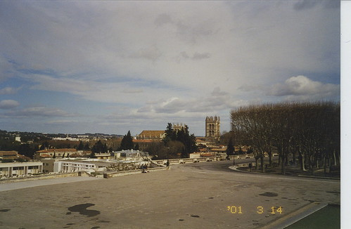 2001-03-14 Montpellier France (downtown photos)