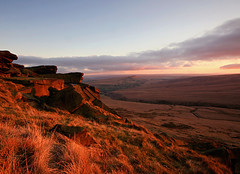 Buckstones Edge (Charlotte Brett Photography) Tags: sunset yorkshire pennines marsdenmoor buckstones saddleworthphotobooklandscapes