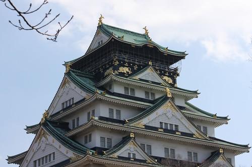 Osaka-jo Castle 天守閣