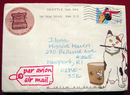cat envelope