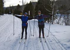End of Skiing at Parc des Campeurs (Bobcatnorth) Tags: winter canada quebec laurentians crosscountryskiing 2010 skidefond sainteagathedesmonts sainteagathe stagathe parcdescampeurs