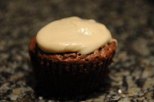 chocolate cupcake with salted caramel frosting.jpg