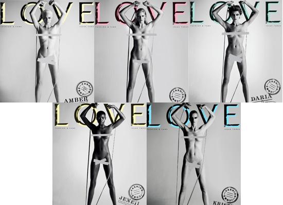 Dolce & Gabbana in LOVE magazine