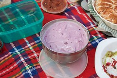 blueberry cheesecake icecream by kristy