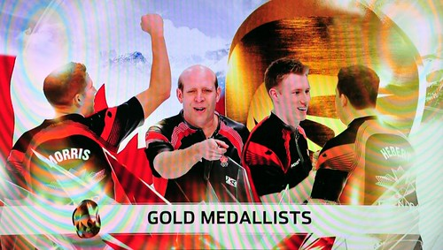13th Gold medal Canadian Mens Curling team