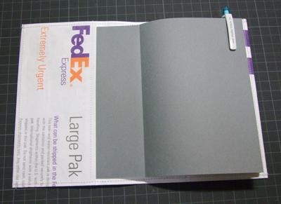 無印良品手帳FedExカバー:セットイメージ2