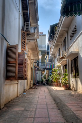 Alley in Siem Reap