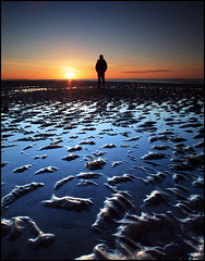 Broughty Dawn (angus clyne) Tags: sea cold nature sunrise mouth river dawn coast scotland garbage sand open flat mud harbour broughtyferry dundee angus north dirty east tay litter plastic filter lee late ripples dri firth thismorning polluted flikcr newvision shameonyou leefilters peregrino27newvision