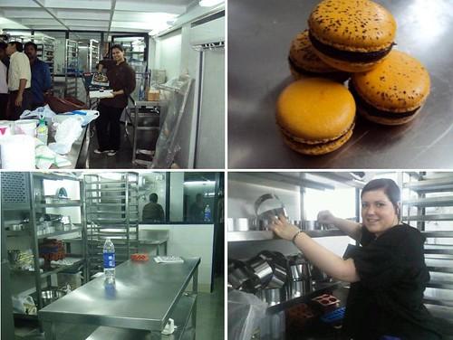 1st day in kitchen