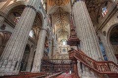 New Cathedral  Catedral Nueva, Salamanca HDR (marcp_dmoz) Tags: lighting new light espaa luz church architecture photoshop licht spain arquitectura nikon catholic cathedral map interior kathedrale catedral iglesia kirche wideangle architektur salamanca nikkor baroque 1735mmf28d nueva tone hdr spanien neue beleuchtung iluminacion katholisch granangular barroco catolico gotisch weitwinkel castillayleon photomatix lategothic barrok tonemapped tonemapping asunciondelavirgen d700 gticotardo castilleandleon kastilienundleon