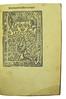Title-page with woodcut device in Albertus Magnus [pseudo-]: Liber aggregationis, seu Liber secretorum de virtutibus herbarum, lapidum et animalium quorundam