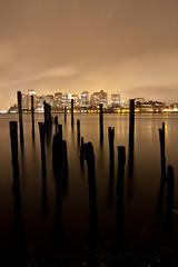 pylons and boston (patcable) Tags: boston skyline pylons eastie eastboston