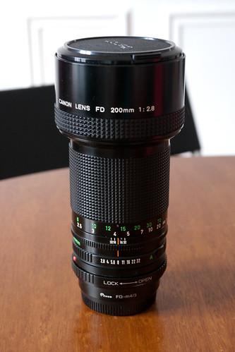 [ANNULE] Objectif Canon FD 200mm f/2.8 avec adaptateur m4/3 4410496933_aaa13b5b03