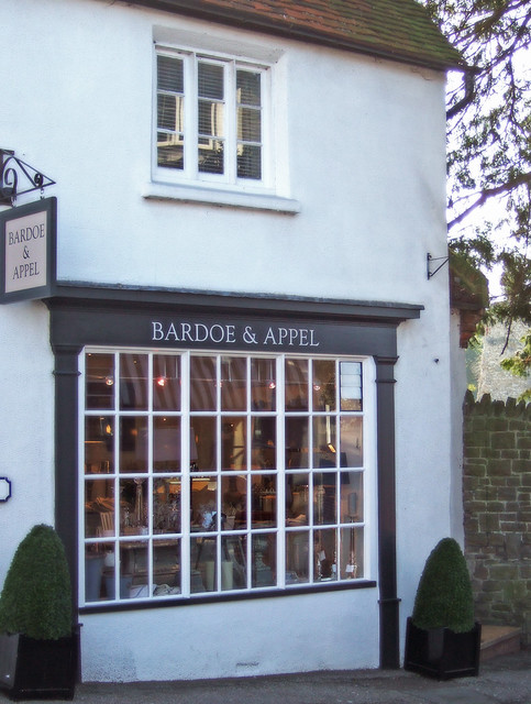 "My new client shop ""Bardoe & Appel"", Guildford 05/03/10"