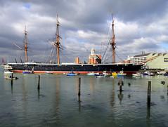 HMS Warrior, Portsmouth Historic Dockyard (avriel) Tags: portsmouth hdr hmswarrior