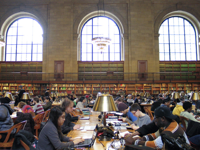 New York Public Library, Main Reading Room