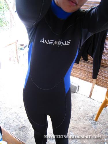 weird wetsuit