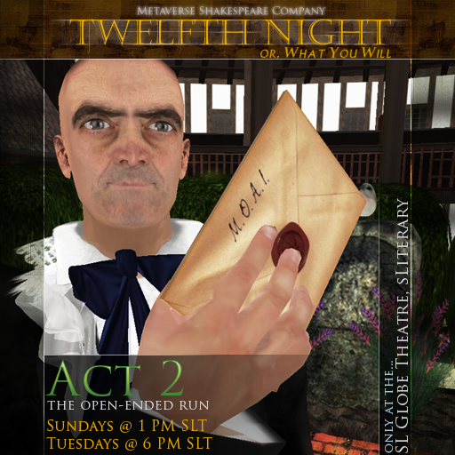 OEP2 Twelfth Night Malvolio A2S5