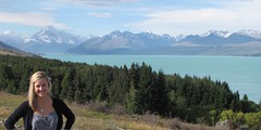 Lake Pukaki and Ash