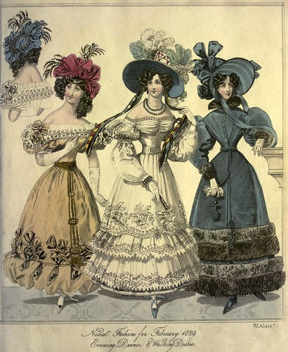 003-The World of fashion and continental feuilletons 1829