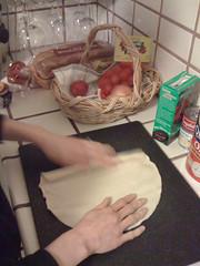 Prefab pie crust