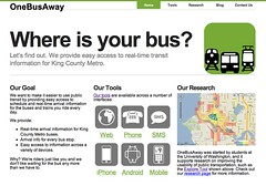 New Design for OneBusAway