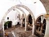 arches in Saint John Monastery, Patmos Island _ Greece